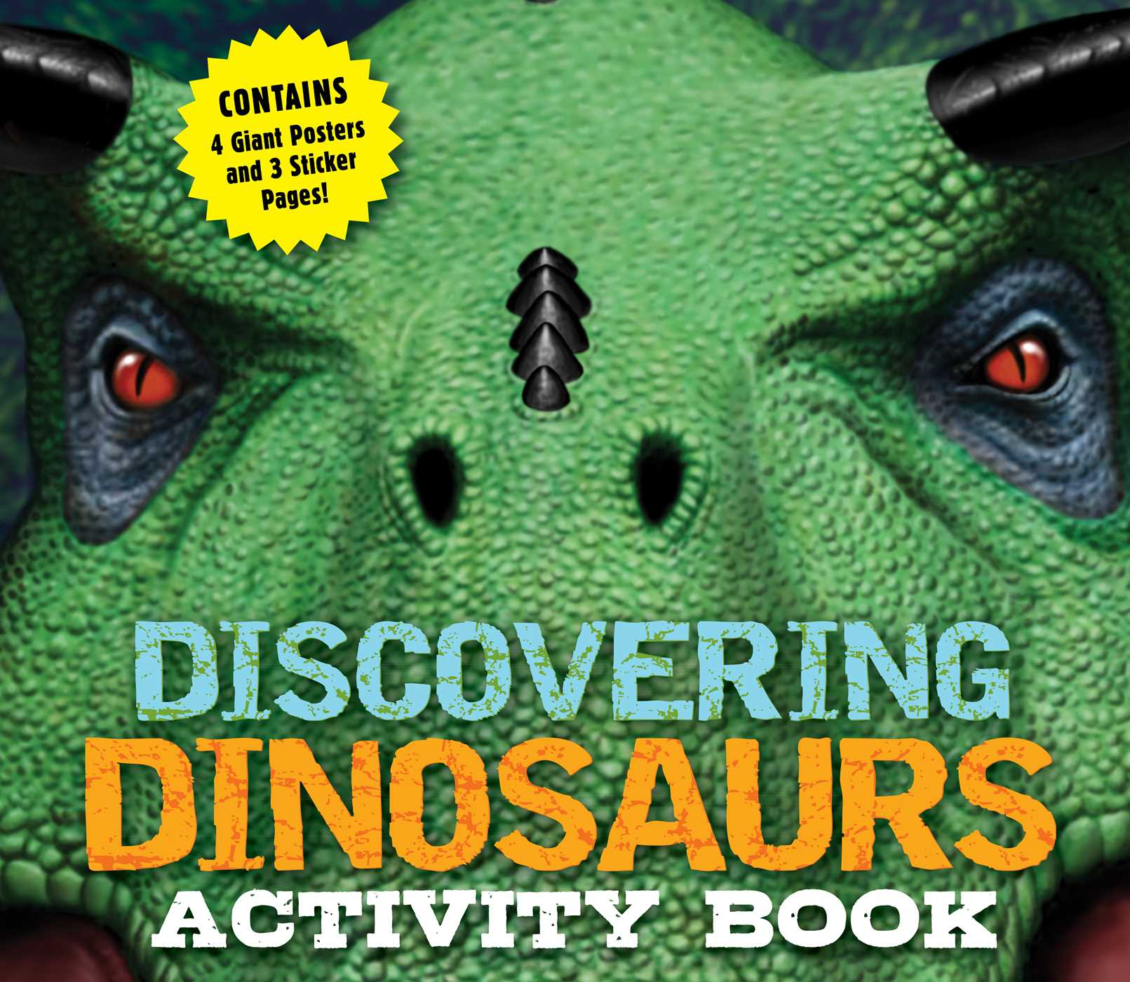 Picture of Discovering Dinosaurs Activity Book
