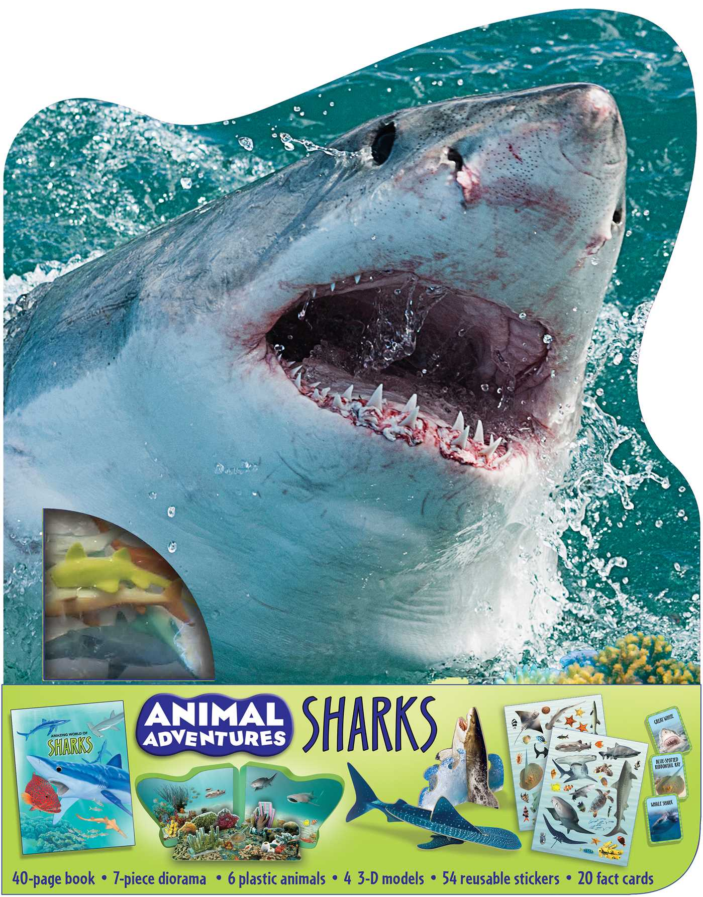 Picture of Animal Adventures: Sharks