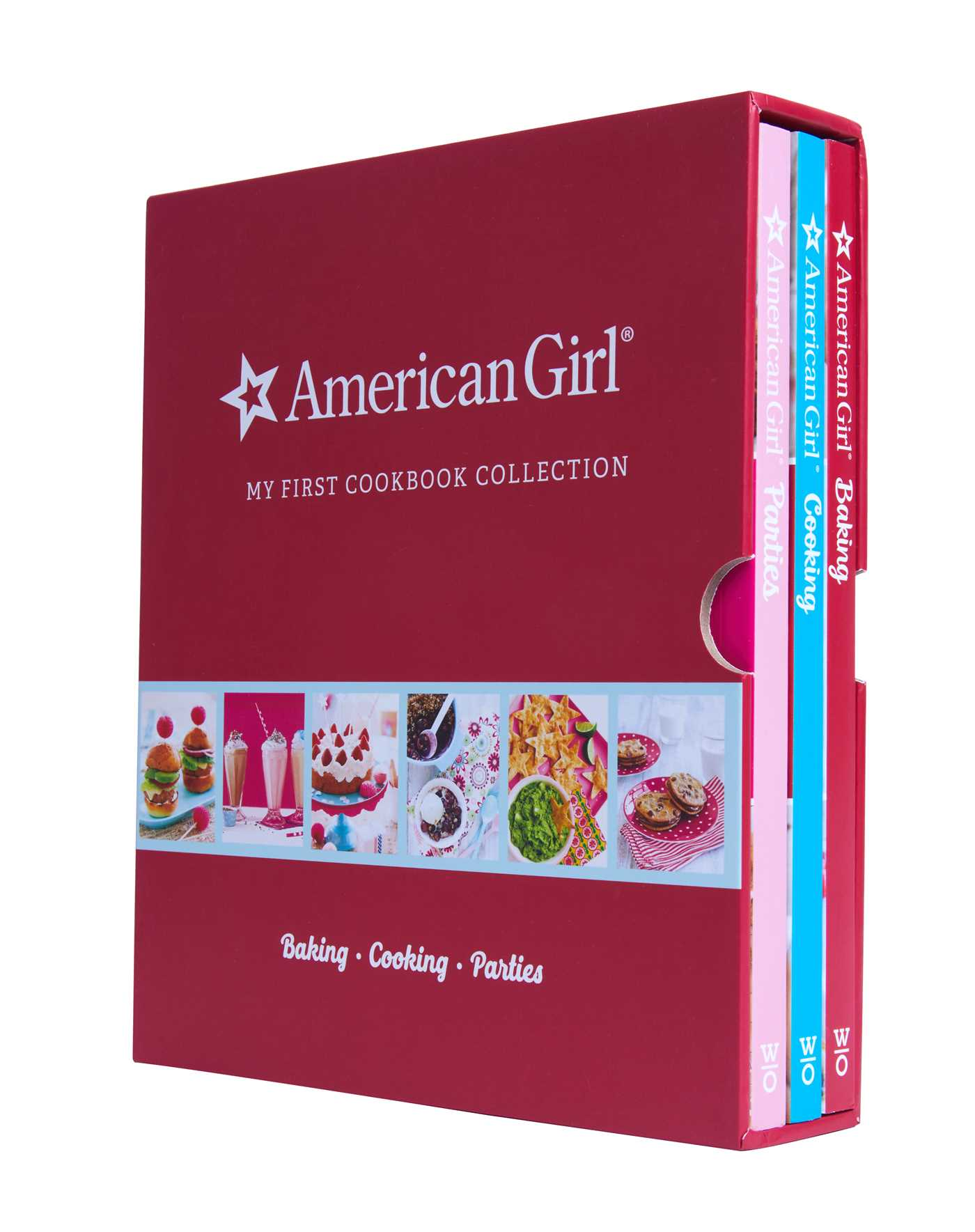 American Girl My First Cookbook Collection (Baking, Cookies, Parties)