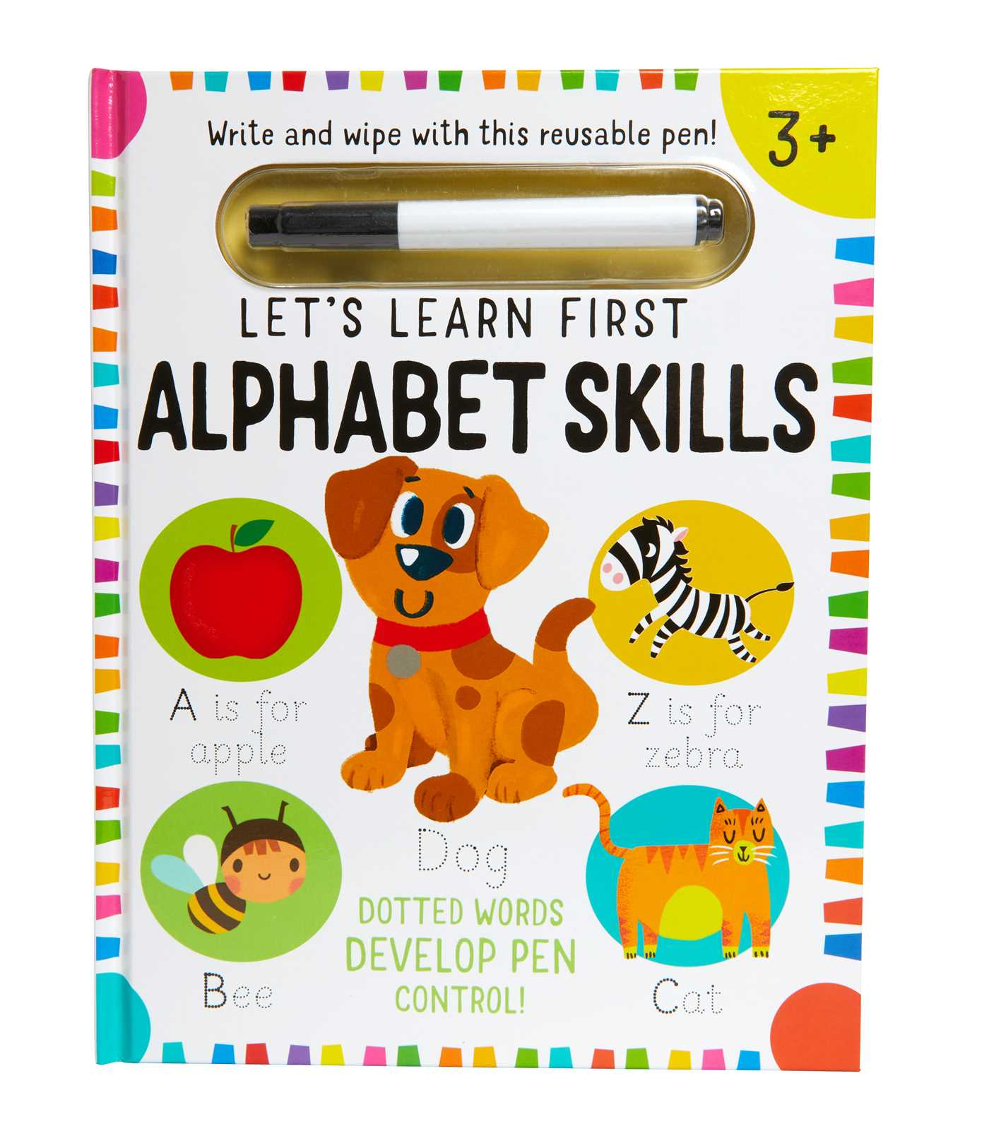 Picture of Let's Learn: First Alphabet Skills (Write and Wipe)