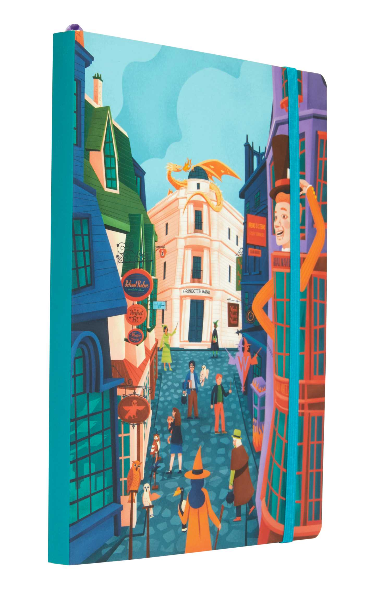 Picture of Harry Potter: Exploring Diagon Alley Softcover Notebook