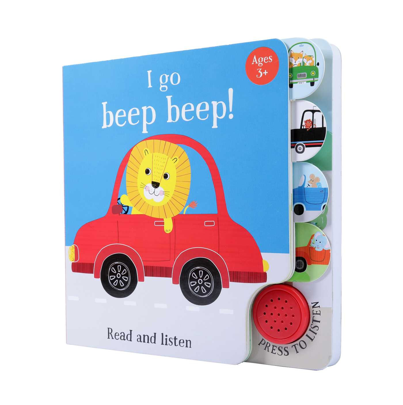 Picture of I Go...Beep Beep (Sound Book)