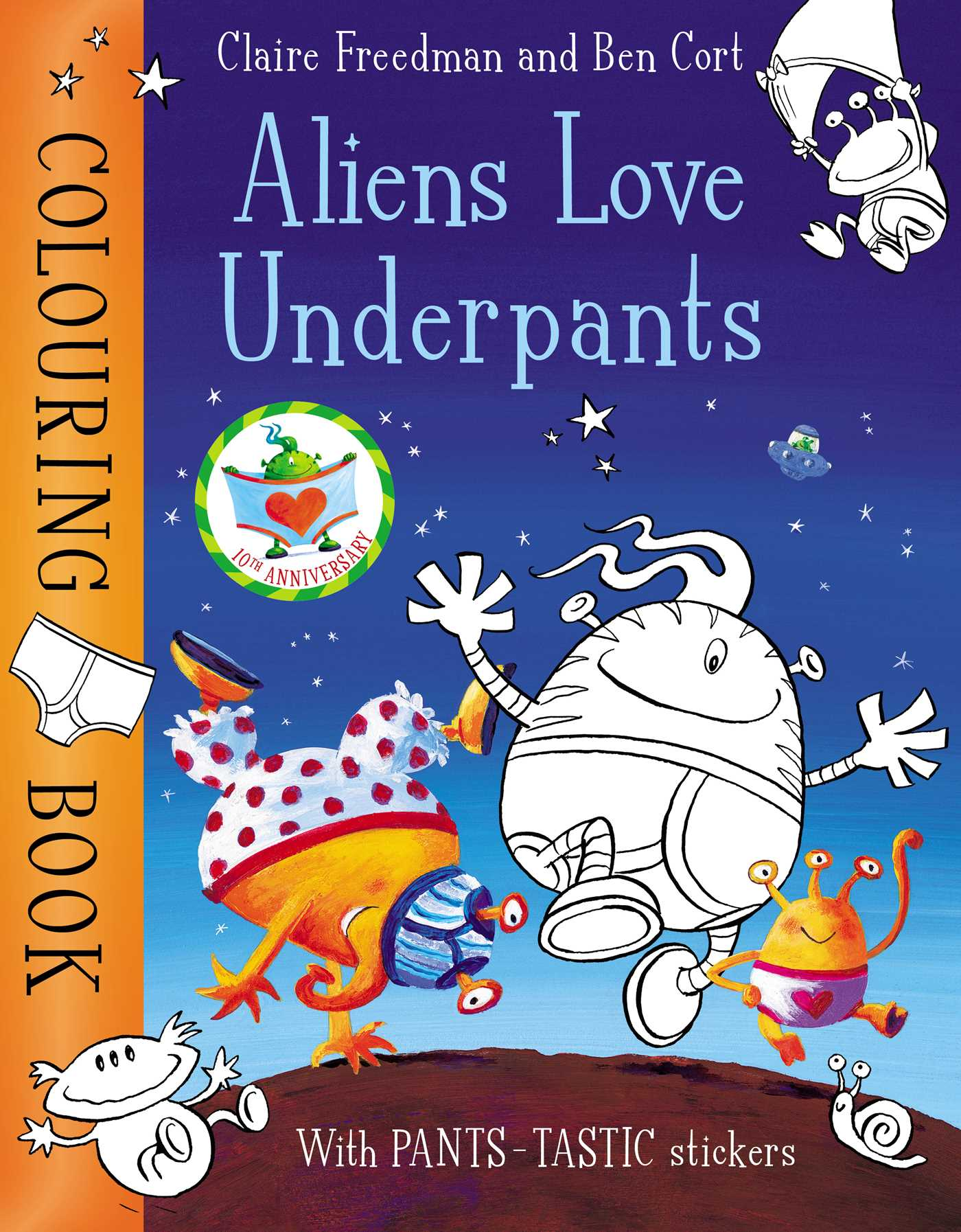Picture of Aliens Love Underpants Colouring Book