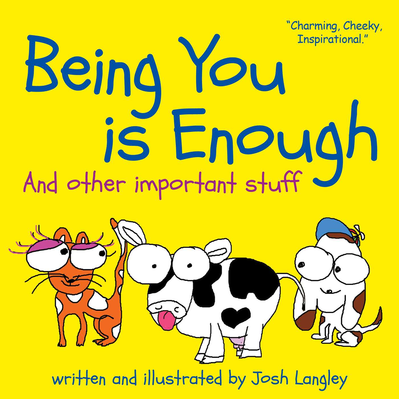 Picture of Being You is Enough