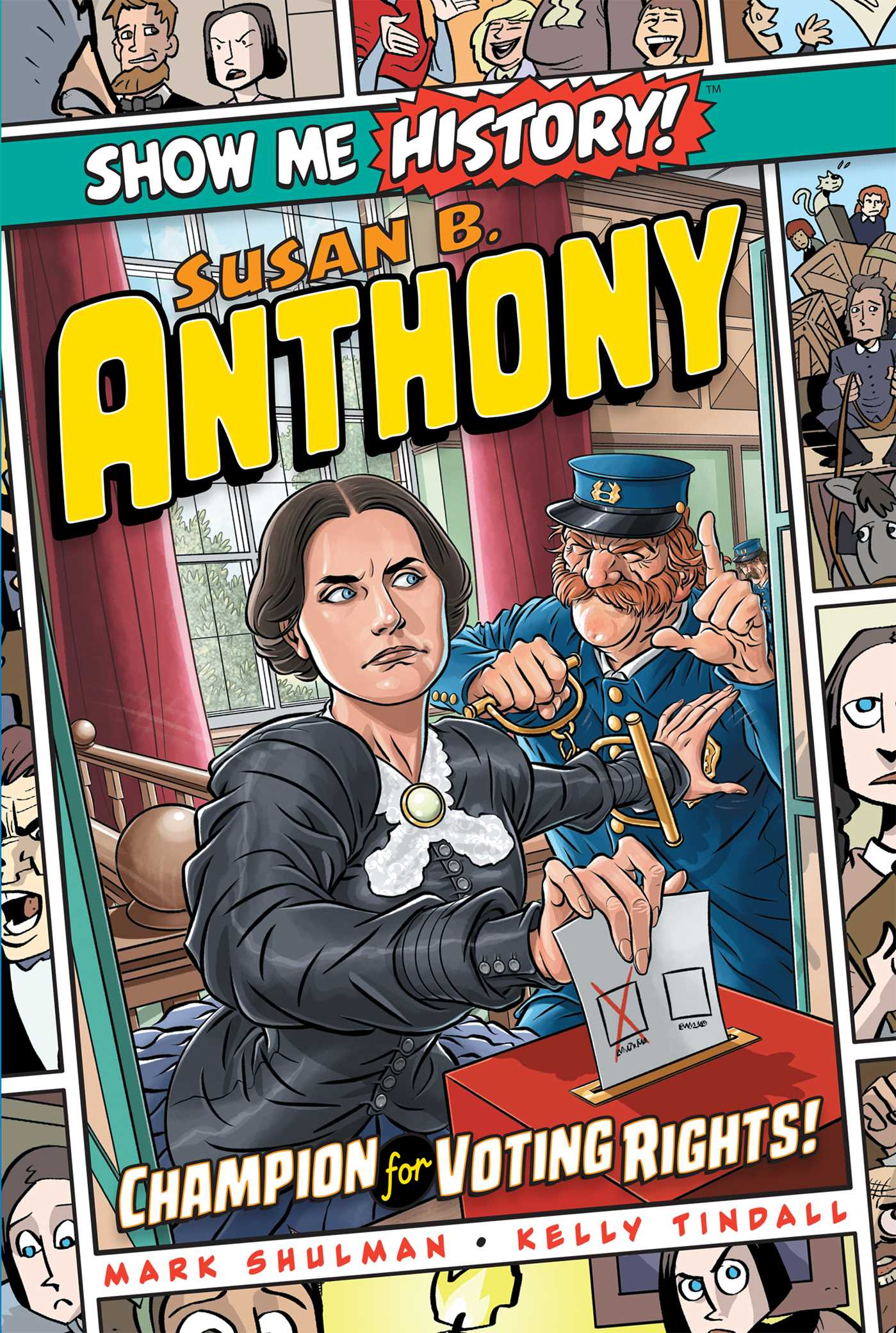 Picture of Susan B. Anthony: Champion for Voting Rights!