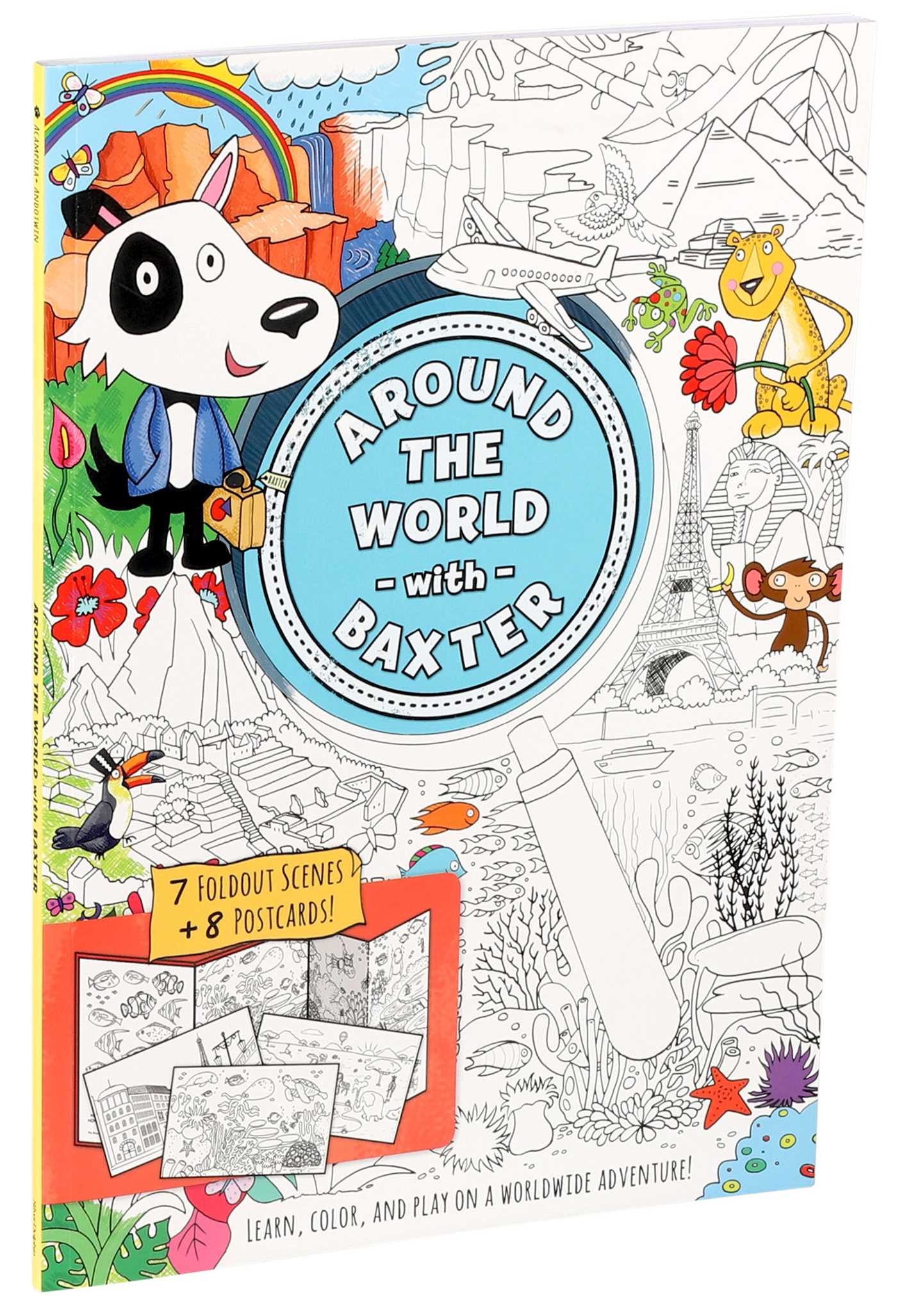 Picture of Around the World with Baxter