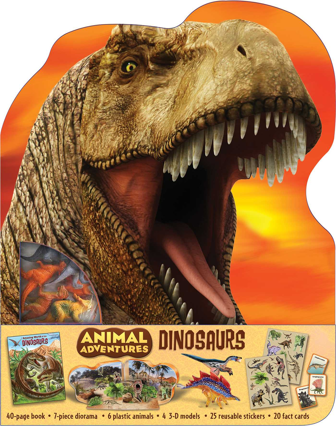 Picture of Animal Adventures: Dinosaurs