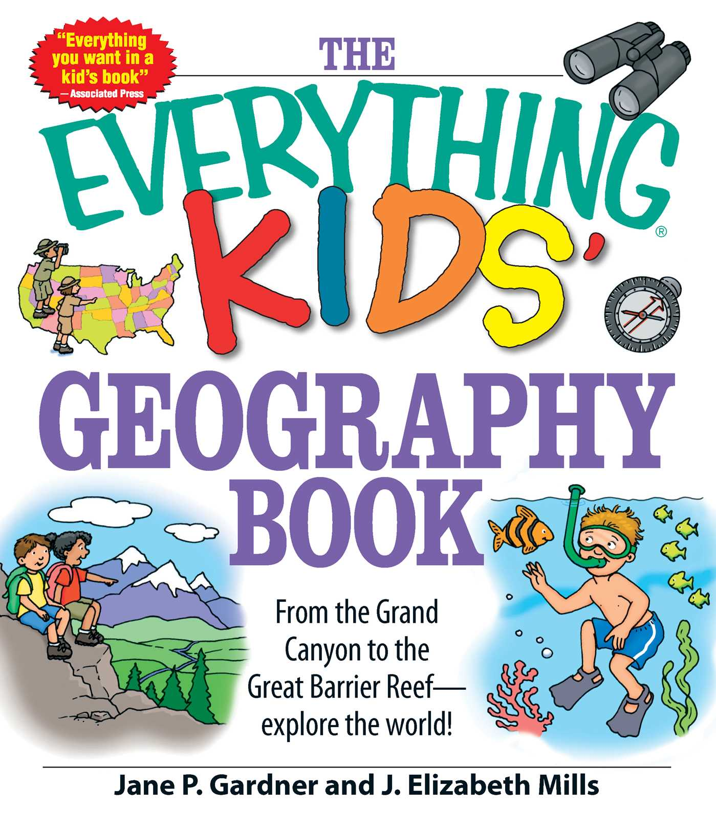 Picture of The Everything Kids' Geography Book
