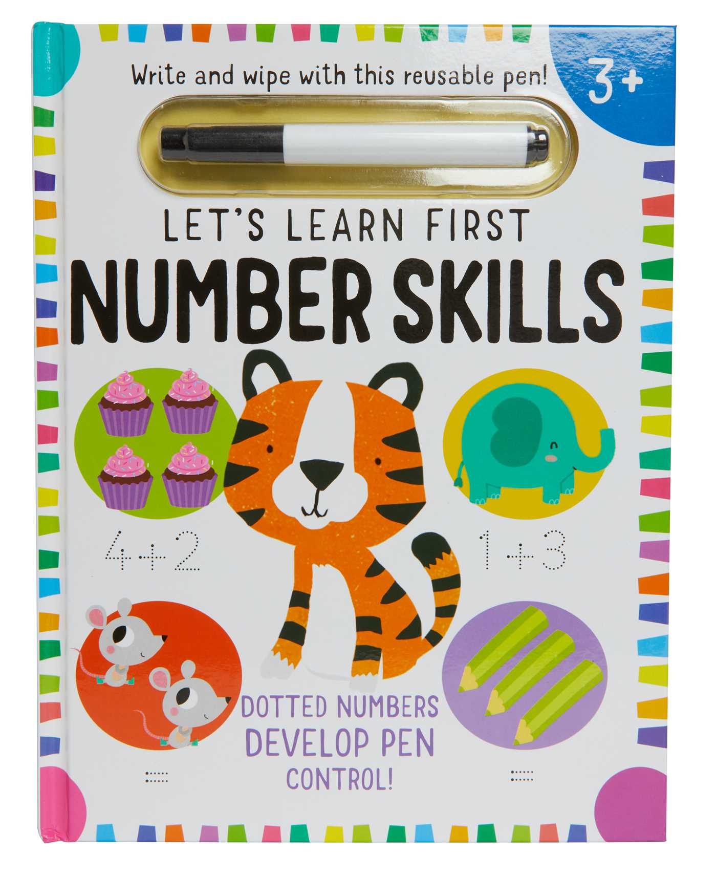 Picture of Let's Learn: First Number Skills (Write and Wipe)