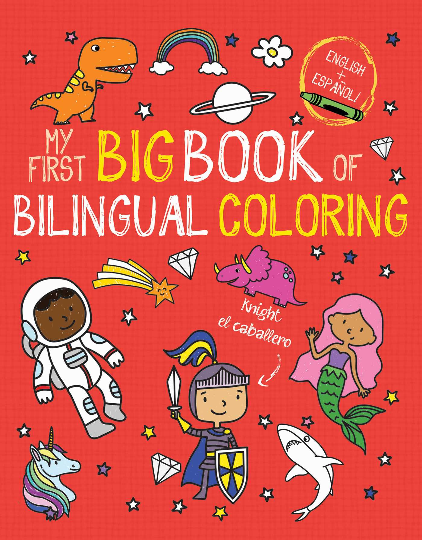 Picture of My First Big Book of Bilingual Coloring