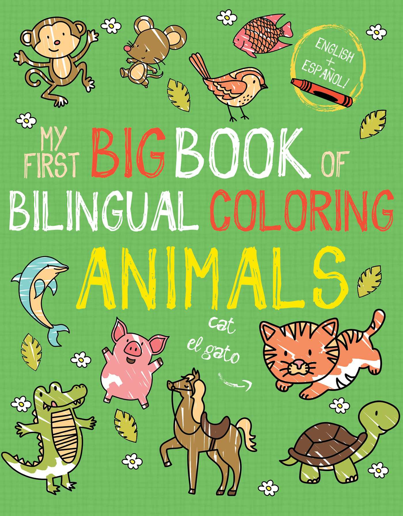 Picture of My First Big Book of Bilingual Coloring Animals