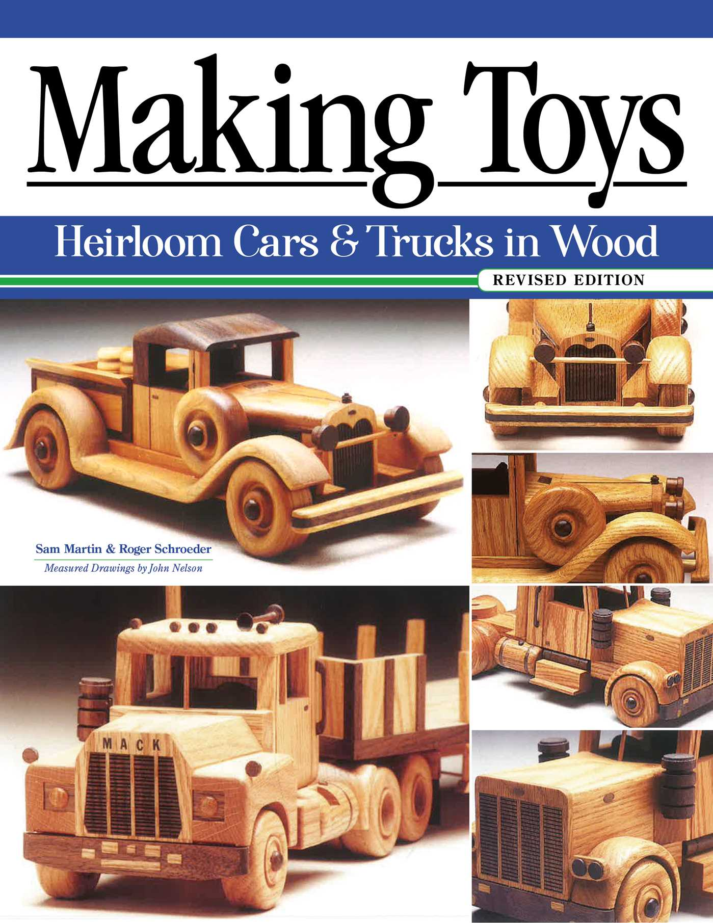 Picture of Making Toys, Revised Edition: Heirloom Cars & Trucks in Wood