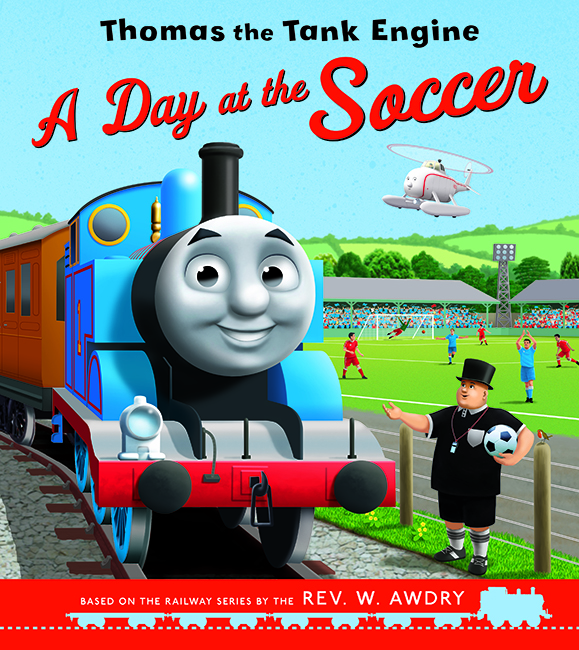 A Day at the Soccer for Thomas the Tank Engine