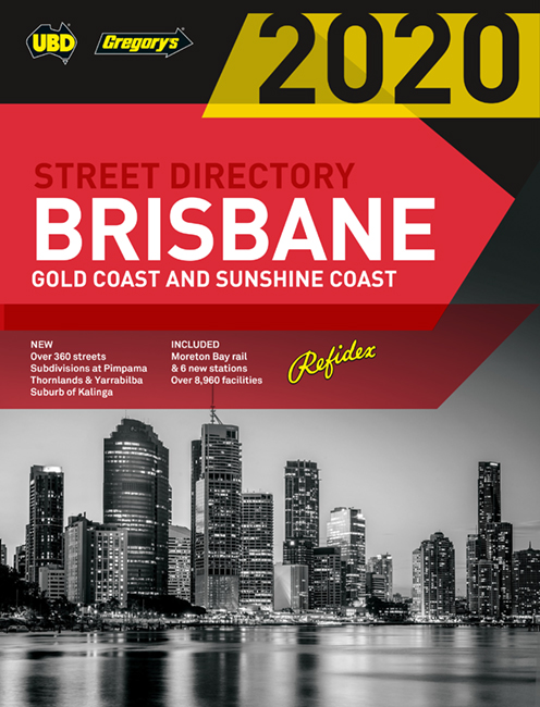 Brisbane Refidex Street Directory 2020 64th ed