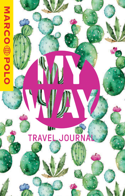 MY WAY Travel Journal (Cactus Cover)