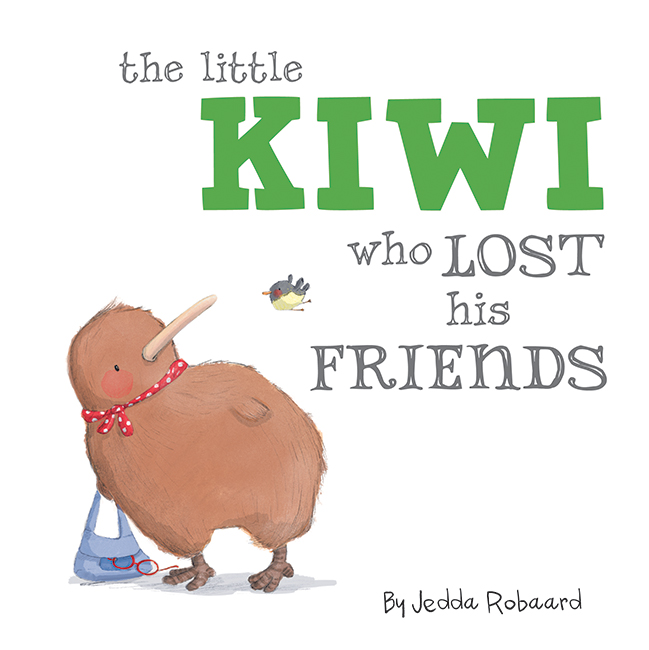 The Little Kiwi Who Lost His Friends
