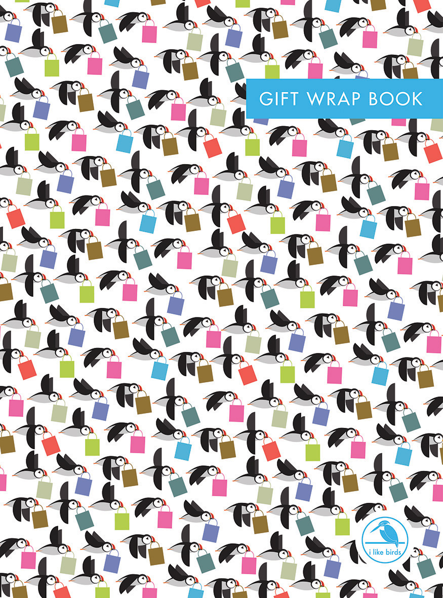 I Like Birds: When Puffins Go Shopping Gift Wrap Book