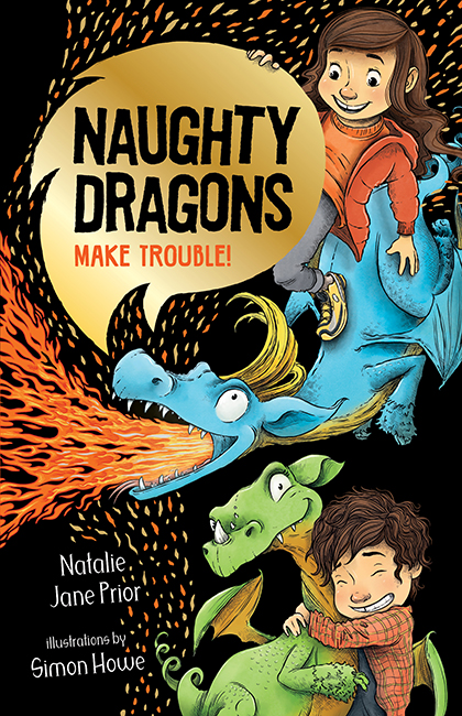 Naughty Dragons Make Trouble!