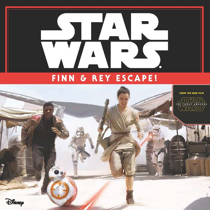Star Wars Episode VII: Finn and Rey Escape