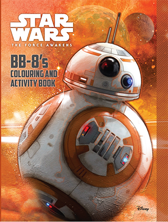 BB-8's Colouring and Activity Book