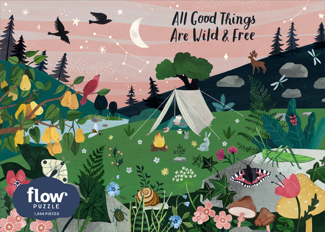 All Good Things Are Wild and Free 1,000-Piece Puzzle
