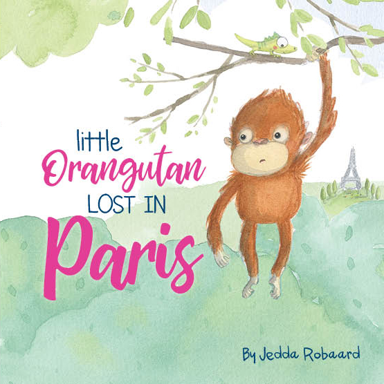 Little Orangutan Lost in Paris