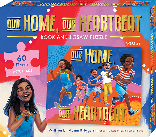 Our Home, Our Heartbeat Book and Puzzle Set