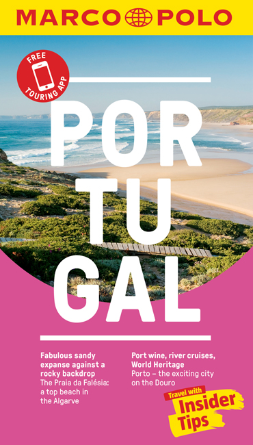 Portugal Marco Polo Pocket Travel Guide - with pull out map