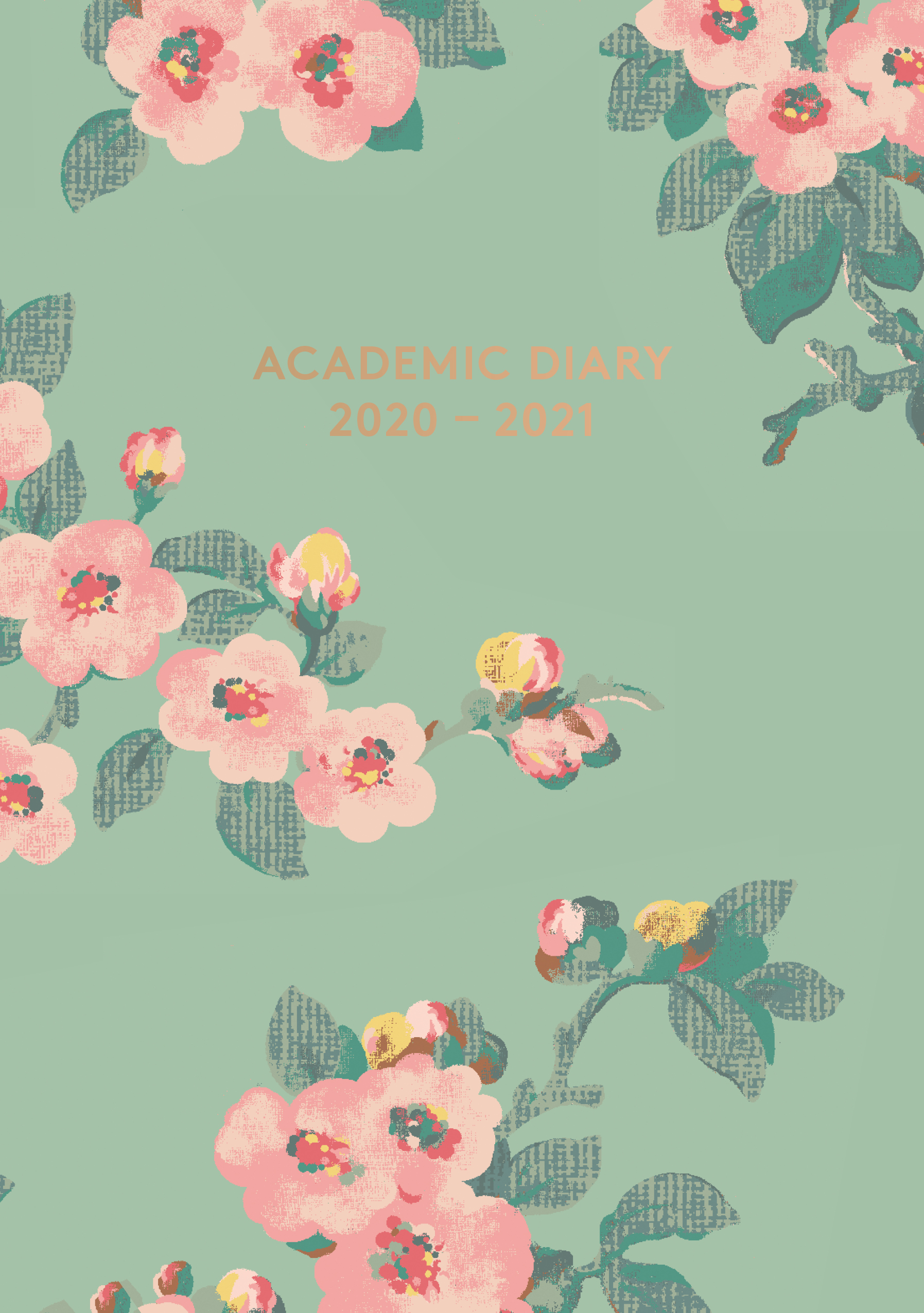 Cath Kidston: A5 Academic Diary (Mayfield Blossom) 2020–2021