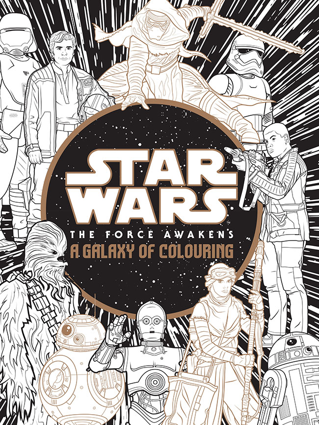 Star Wars: A Galaxy of Colouring