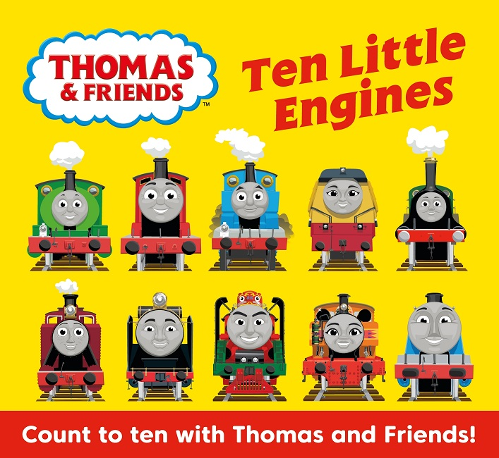 Thomas & Friends Ten Little Engines