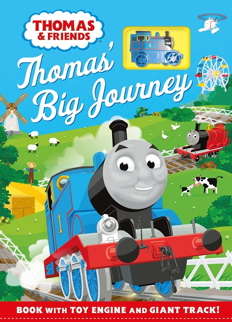 Thomas & Friends: Big Track Book: With a wind-up toy