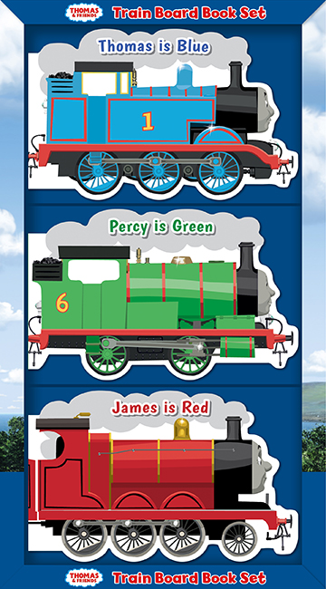 Train Board Book Set