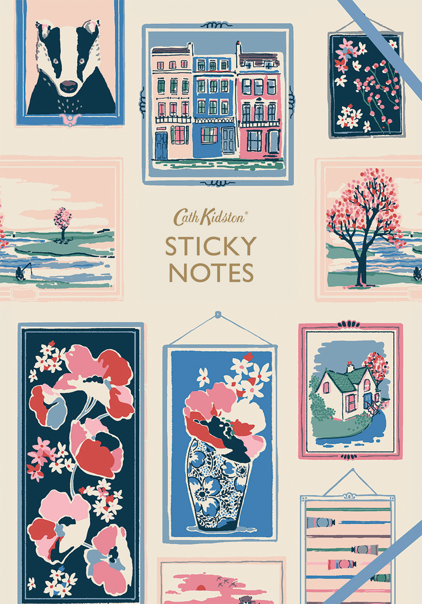 Cath Kidston: Frames Sticky Notes Book