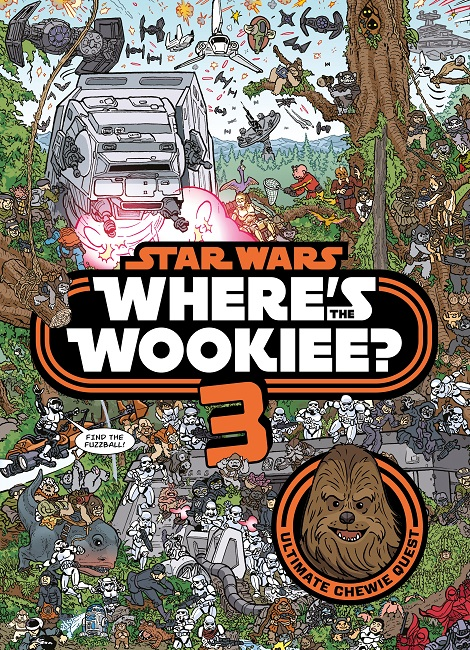 Star Wars: Where's the Wookiee? #3