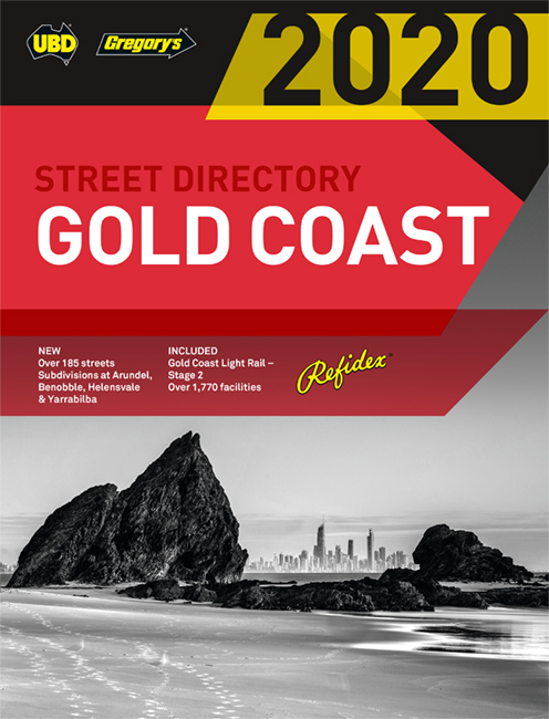 Gold Coast Refidex Street Directory 2020 22nd ed