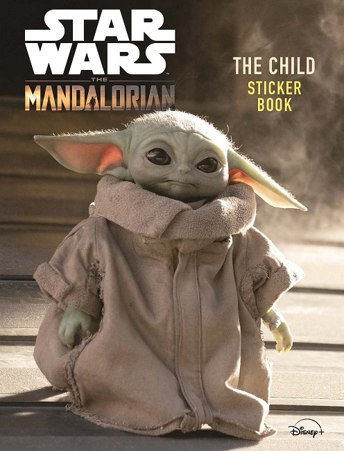 Star Wars The Mandalorian: The Child Sticker Book
