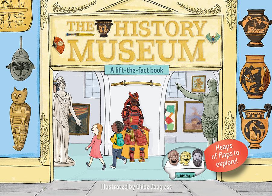 The A Lift-the-Flap Book: The History Museum