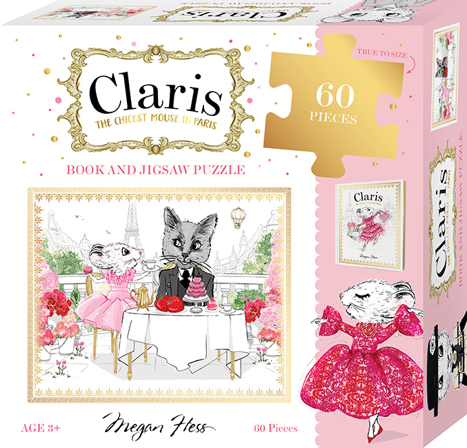 Claris: Book and Jigsaw Puzzle Set